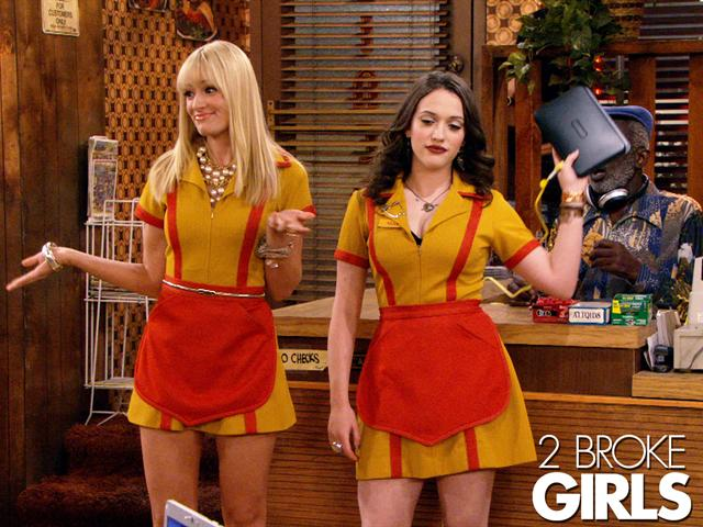 Two Broke Girls Cat