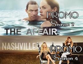 News | The Affair Promo Season 2 e Nashville Promo Season4