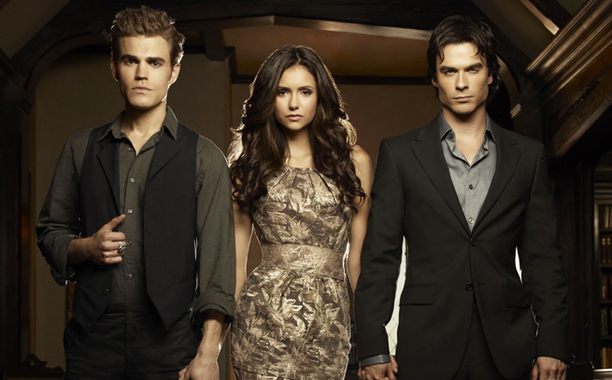 The Vampire Diaries  Pictured: Paul Wesley as Stefan, Nina Dobrev as Elena, Ian Somerhalder as Damon  Photo Credit: Art Streiber / The CW  © 2010 The CW Network, LLC. All Rights Reserved.