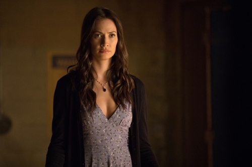 "The Vampire Diaries -- ""Detoured on Some Random Backwoods Path to Hell"" --Image Number: VD806B_0138.jpg -- Pictured: Kristen Gutoskie as Seline -- Photo: Bob Mahoney/The CW -- © 2016 The CW Network, LLC. All rights reserved."