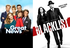 News | NBC rinnova The Blacklist e Great News
