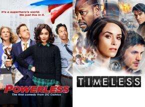 News   NBC cancella Powerless eTimeless