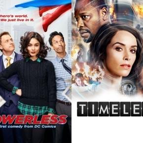 News | NBC cancella Powerless eTimeless