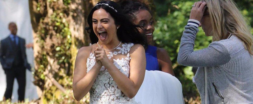 News | Veronica in abito da sposa sul set di Riverdale