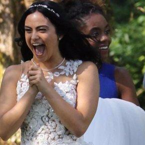 News | Veronica in abito da sposa sul set diRiverdale