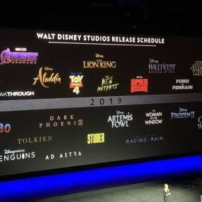 News | Cinemacon Disney-Fox: Presentata la programmazione del2019
