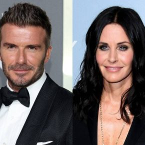 News | Courteney Cox in Modern Family con David Beckham